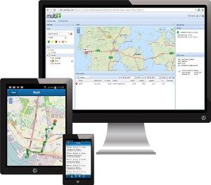 Skærmbilleder der viser planlægningsværktøjet fra Multi IT