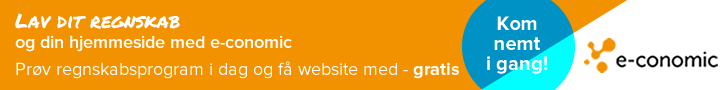 Gratis website med e-conomic