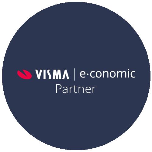 Vi er certificeret e-conomic Partner - Læs mere om e-conomic regnskabsprogram