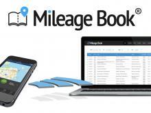 Illustration af integration mellem kørebog-app og Milage Book
